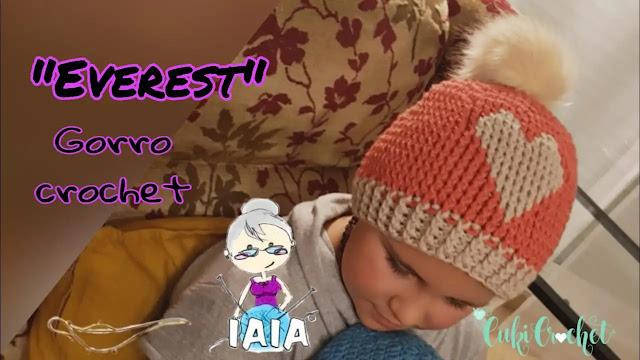 Aprende a Tejer Gorro Everest a Crochet