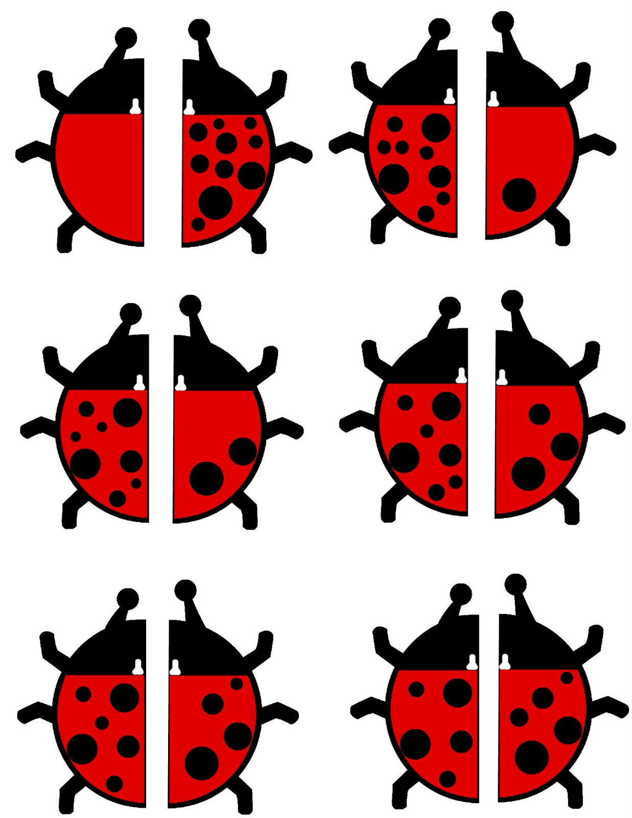 Free Ladybug Math Activity