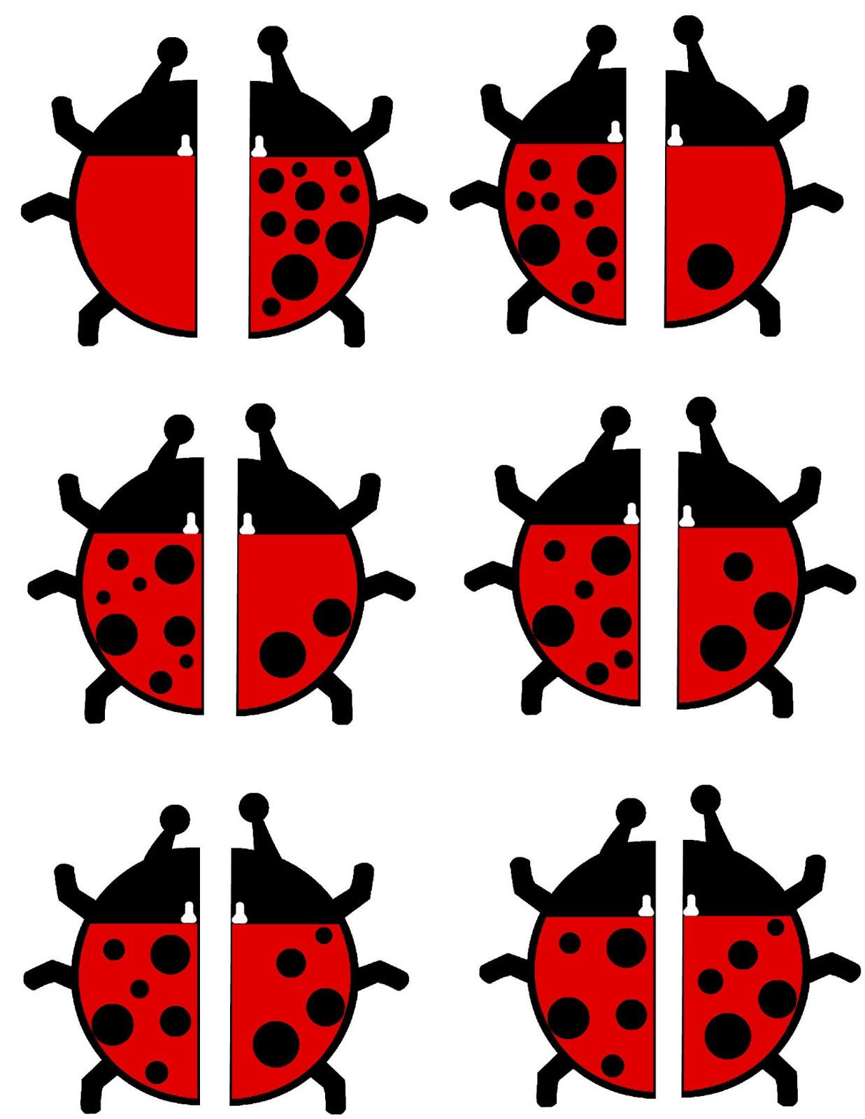FREE} Ladybug Math Activity!! | Preschool Powol Packets