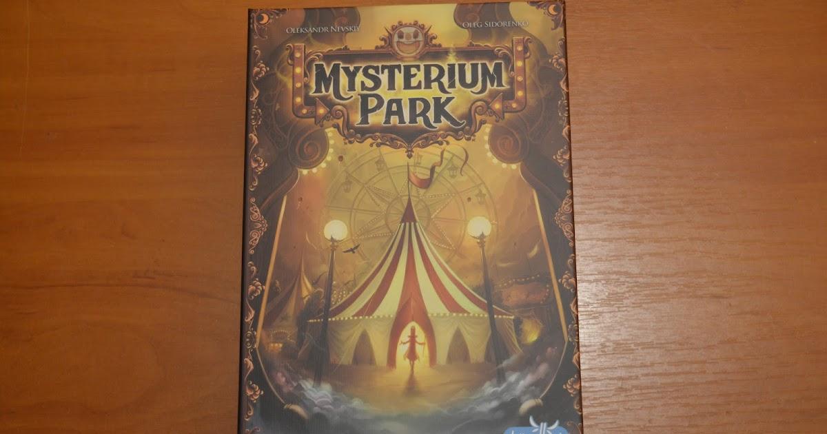 Rozwiąż zagadkę w cyrku – recenzja gry Mysterium Park