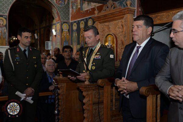 Ανώτατη εκκλησιαστική διάκριση στον ΑΓΕΕΦ Αντιστράτηγο Ηλία Λεοντάρη