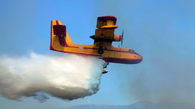 Πυρκαγιές σε Άνδρο και Αχαία