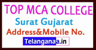 Top MCA Colleges in Surat Gujarat