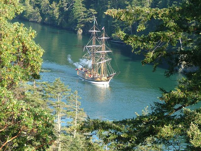 sailing, camping, San Juans, boating, Deception Pass, Park