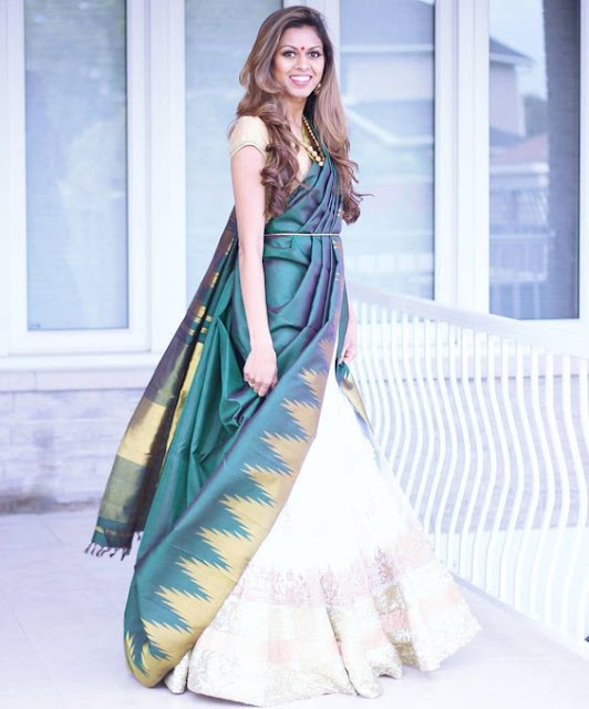 saree draping ideas, how to wear saree, different styles to wear saree, diffrent styles to drape saree, alag style me saree