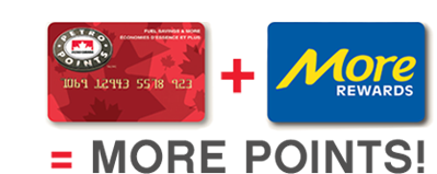 Rewards Canada: You can now convert Petro-Points to More