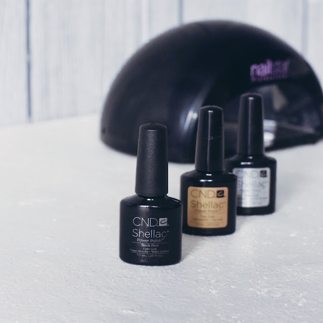 GrinseStern, black is beautiful, nails, shellac, nagellack, cnd shellac