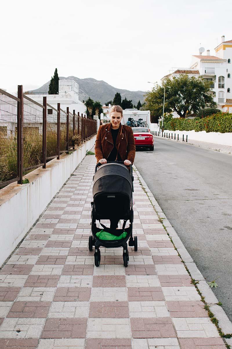 lentäminen vauvan kanssa