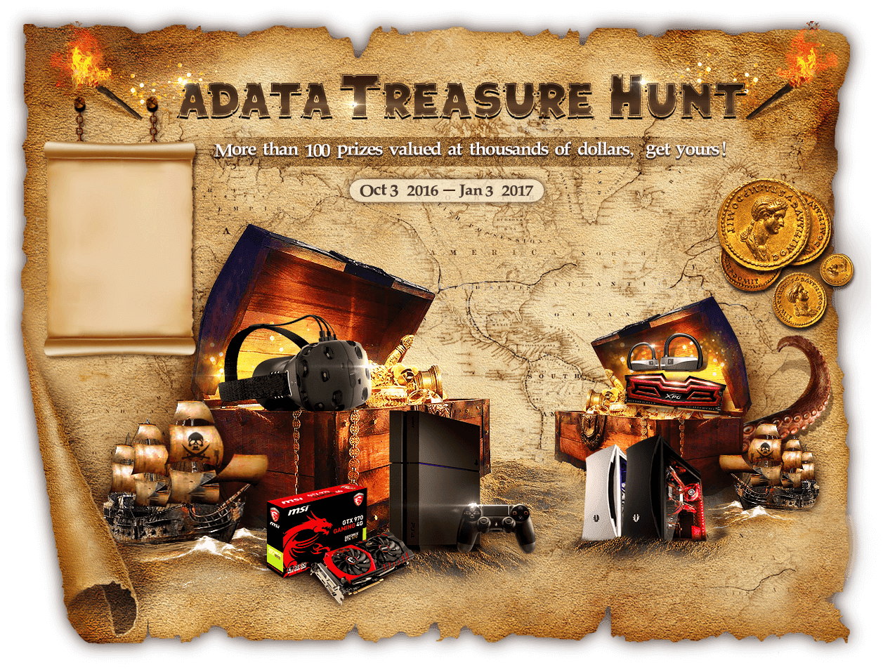 ADATA Treasure Hunt Promotional Campaign