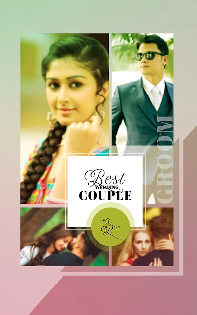 Wedding collage psd download