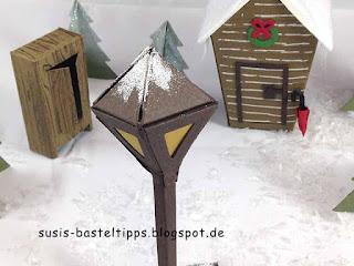 Stampin' Up! Miniatur Märchenland: Der König von Narnia als Miniatur, Haus von Tumnus, Kleiderschrank und Laterne