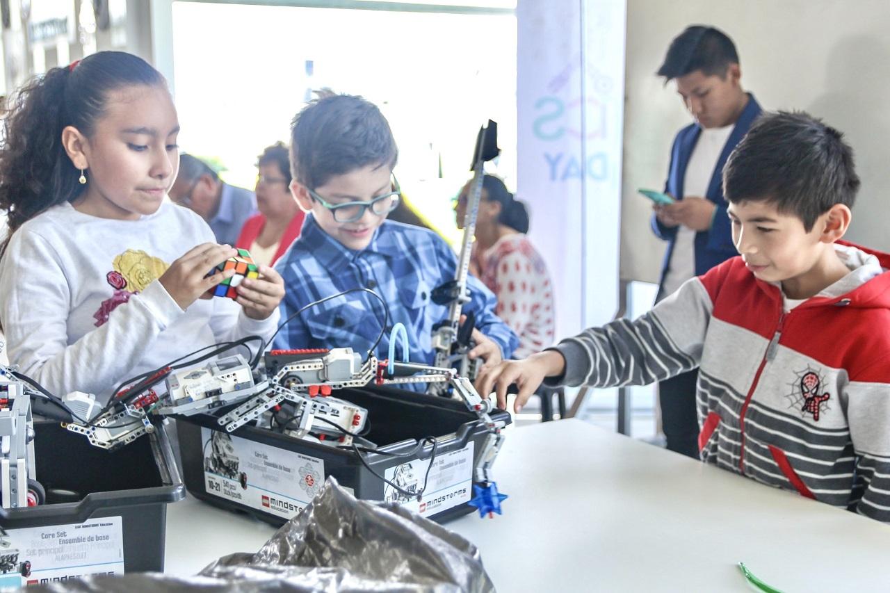 escuela de robótica para niños