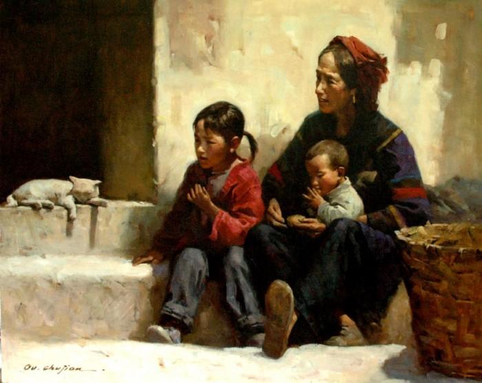 Художник из Китая