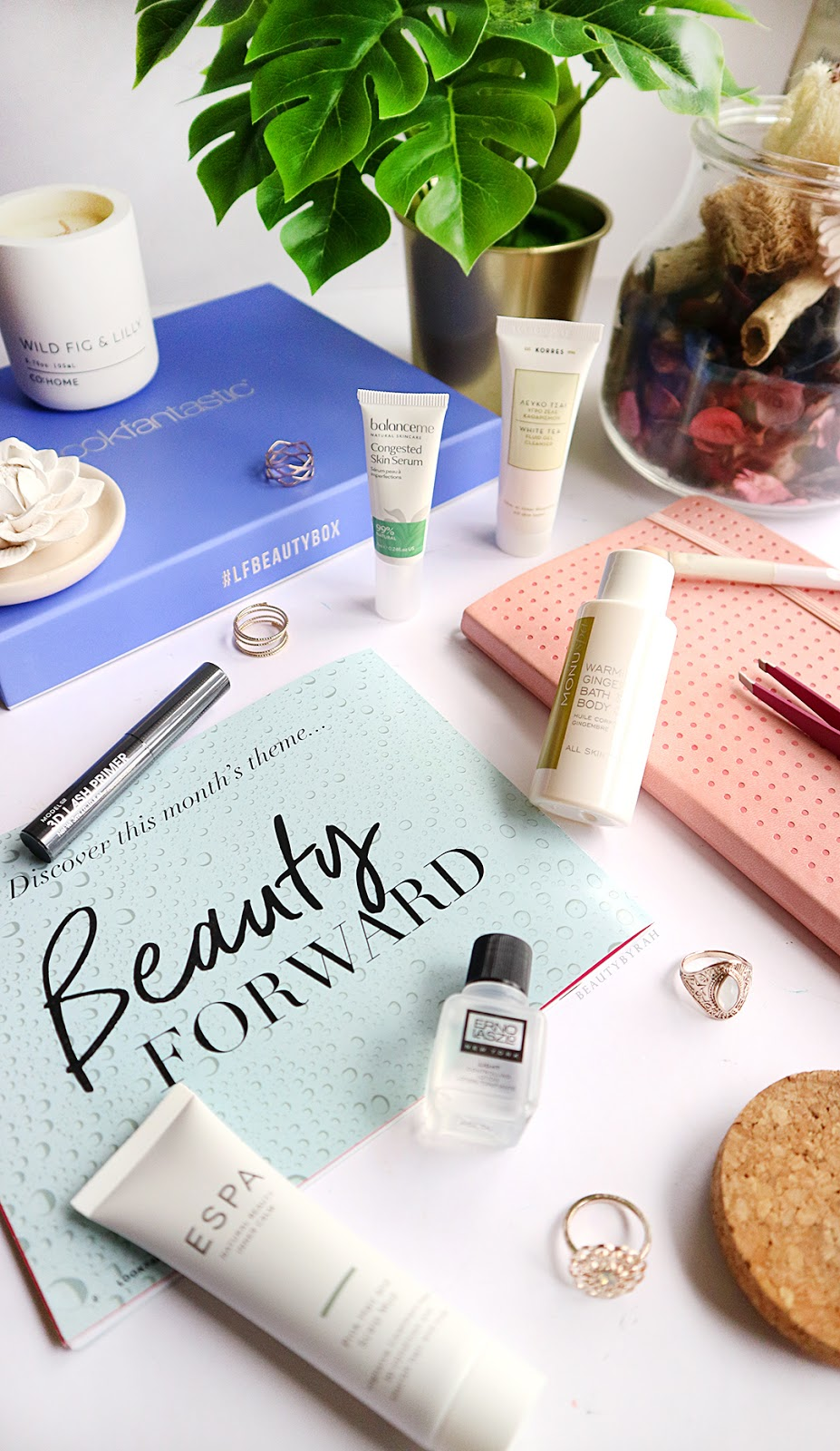 Look Fantastic January Beauty Box 2018 Product Unboxing