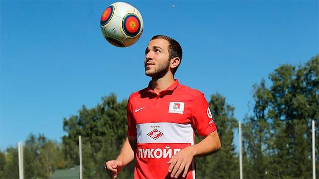 «Спартак» подтвердил продление контракта с Мелкадзе