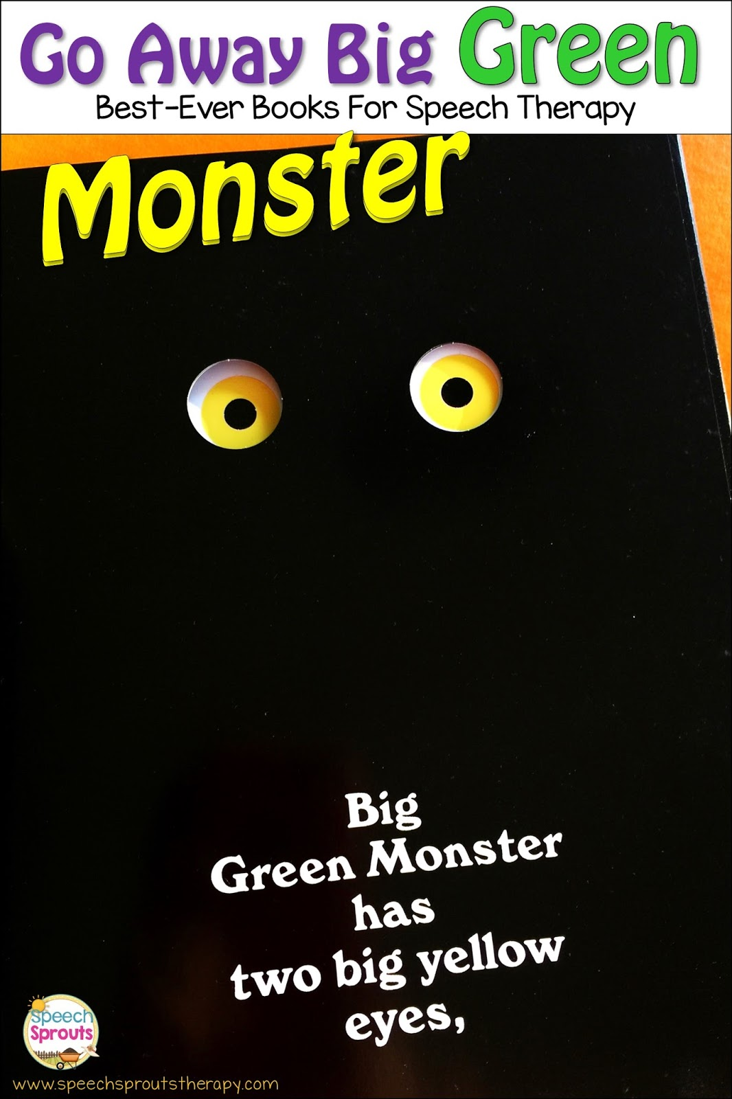 picture about Go Away Big Green Monster Printable Book called Speech Sprouts: Shift Absent Huge Inexperienced Monster: Great-At any time Guides