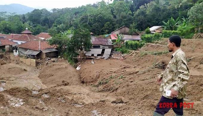 Warga mengira Helikopter Mendarat di Kampung, Sepenggal Cerita Korban Banjir Bandang dan Longsor