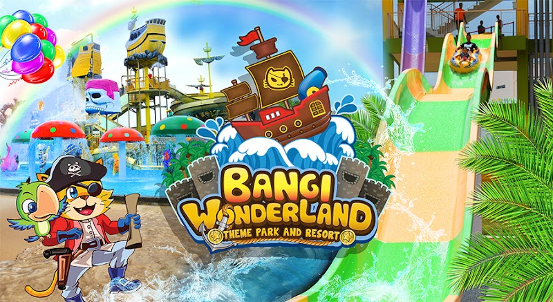 Bangi Wonderland Themepark & Resort Penangan Kepuasan Berendam !