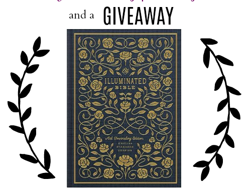 Bible Journaling and a Giveaway