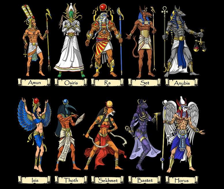 25 Deuses Mais Populares do Antigo Egito