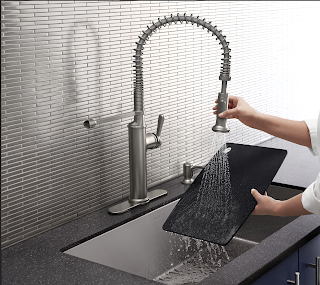 The Sous Faucet by Kohler at the Home Depot | Denise on a Whim