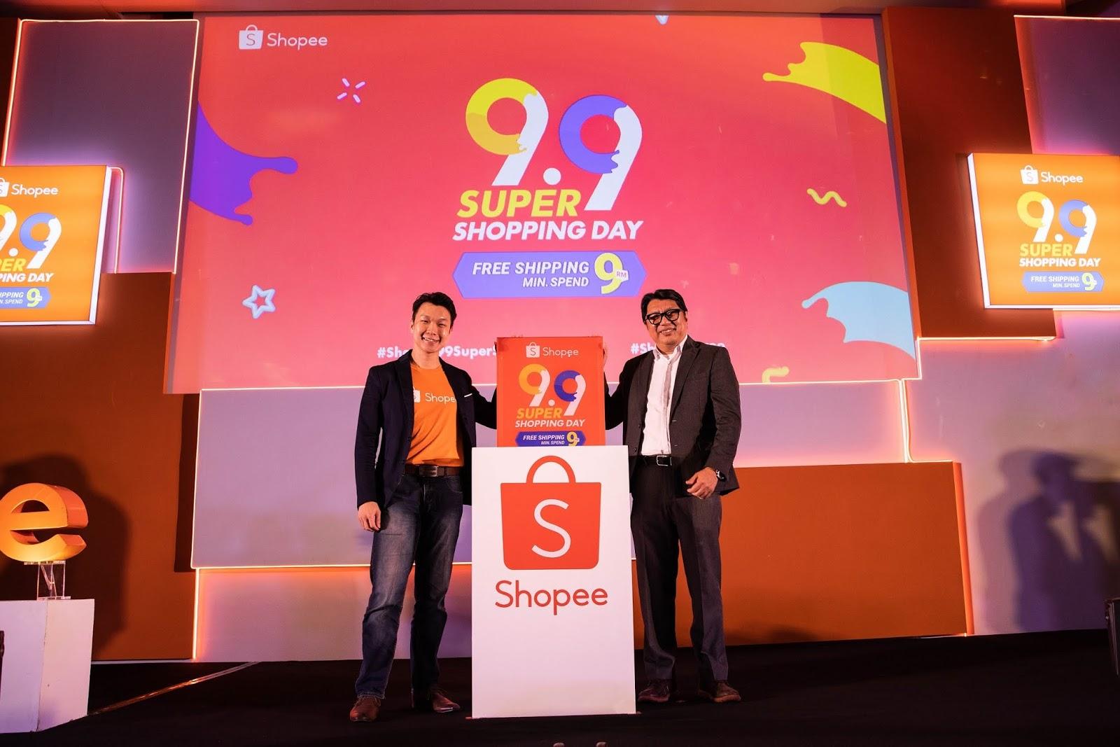 Shopee Sahut Seruan Untuk Kurangkan Kos Sara Hidup Dengan 9.9 Super Shopping Day