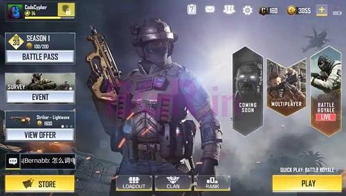 Call of Duty điện thoại mua nhiều loại game chiến thu hút