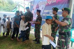 Rawat Kebersamaan, Danrem Silaturahim Ke Ponpes Usman Bin Affan Dompu