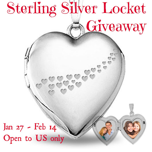 Sterling Silver Locket of Love Giveaway #sorteo #fashion