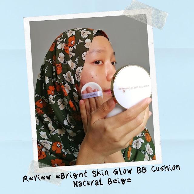 Review eBright Skin Glow BB Cushion Natural Beige