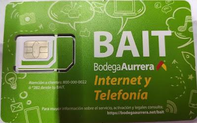 Nuevo OMV Bodega Aurrera Internet y Telefonía BAIT