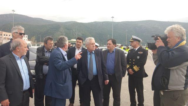 Θεσπρωτία: Φ. Κουβέλης από την Ηγ/τσα - Θα αποδοθούν στο Δήμο τμήματα της χερσαίας ζώνης του λιμανιού