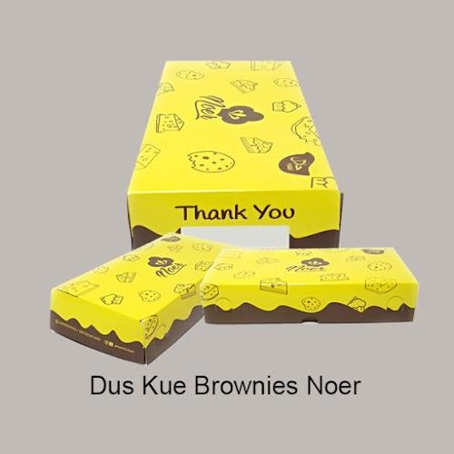 Cetak Dus Kue Brownies Noer