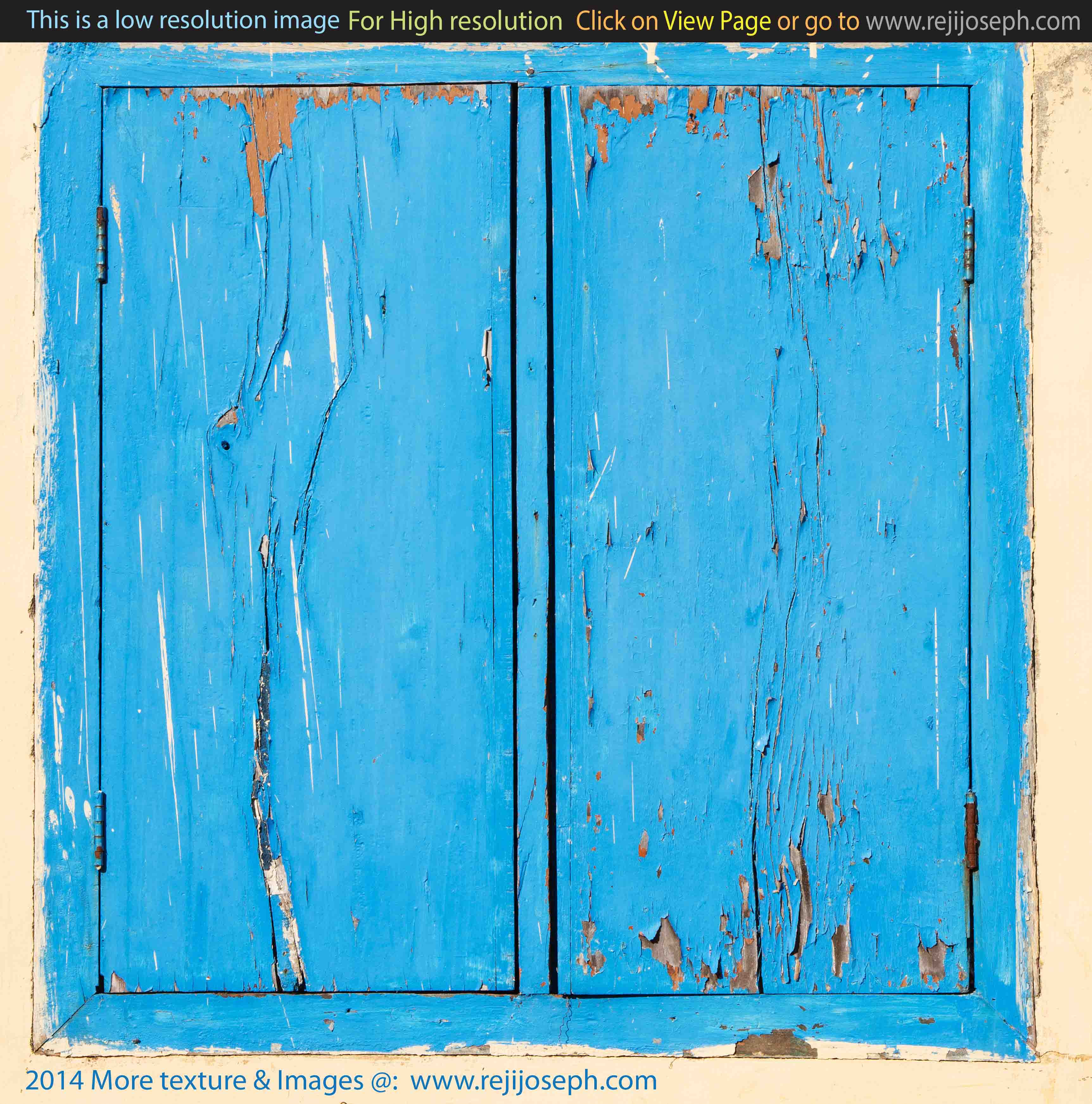 Painted Old Wooden Window texture 00001
