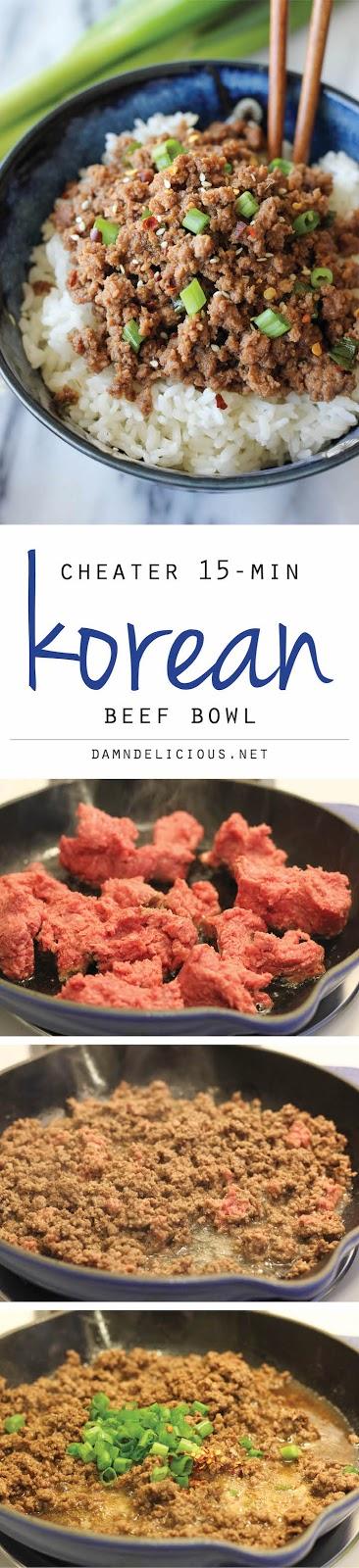Korean Ground Beef over Rice