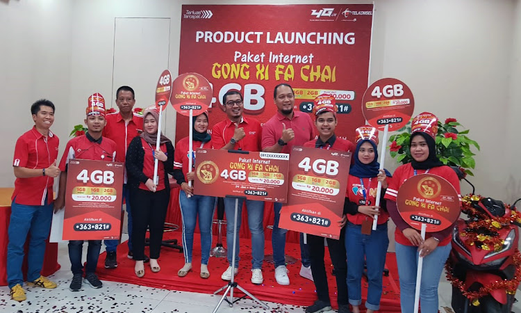 Telkomsel Hadirkan Paket Internet Gong Xi Fa Chai