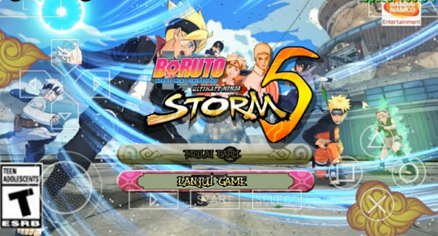 Download Boruto : Naruto Ultimate Ninja Storm 5 ISO PPSSPP For Android