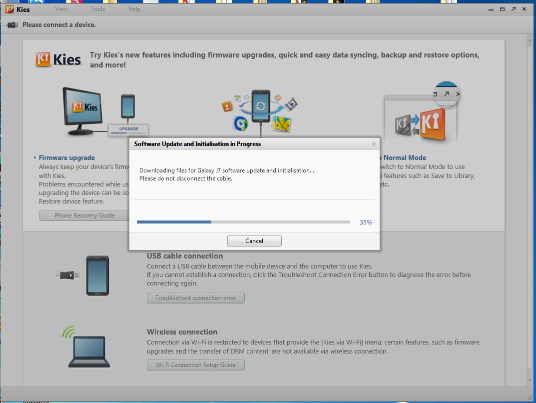 Samsung Emergency Firmware Recovery SM-J700F