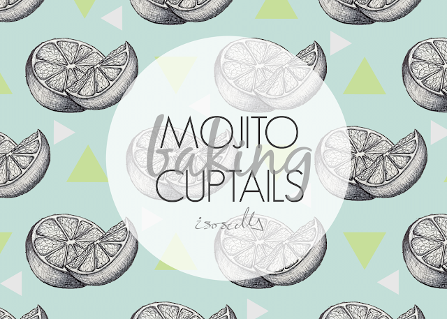 Baking Mojito Cuptail How to DIY header