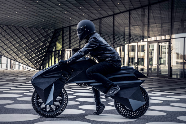 BigRep launches NERA, World's first fully (FFF) 3D-printed, functional e-Motorcycle