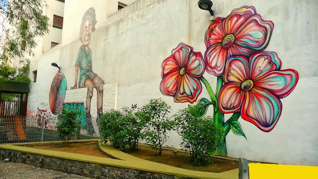 Mural en Plaza del Árbol
