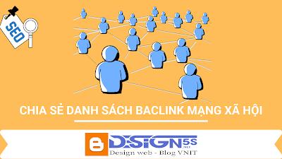 Danh Sách Các Social Để đi backlink Tăng trust Cho Website