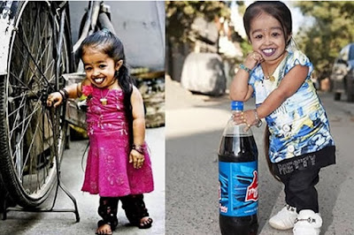 A menor mulher do Planeta