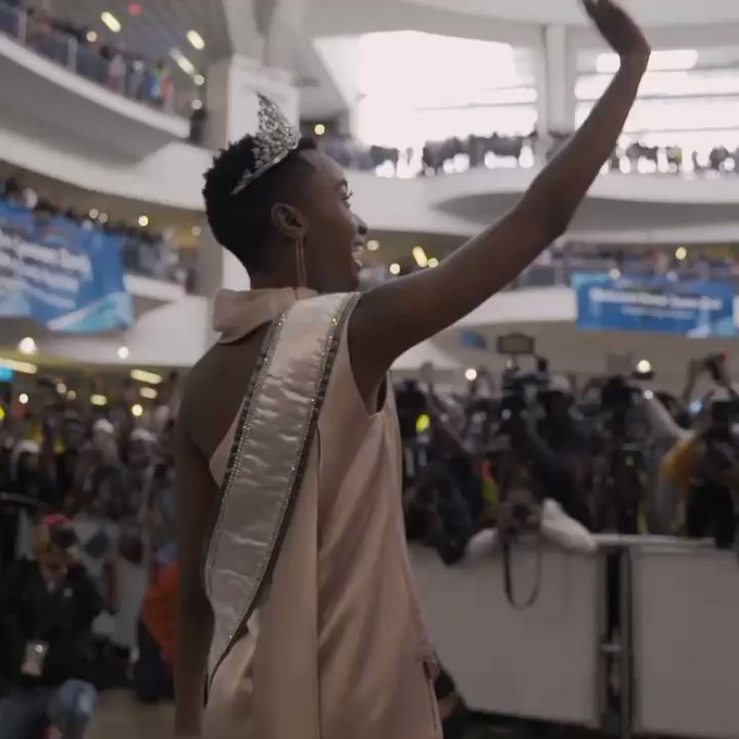 South Africans welcome Miss Universe back home