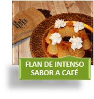 FLAN DE INTENSO SABOR A CAFÉ