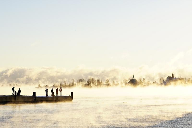 Luonnonilmiö, Helsinki, talvi