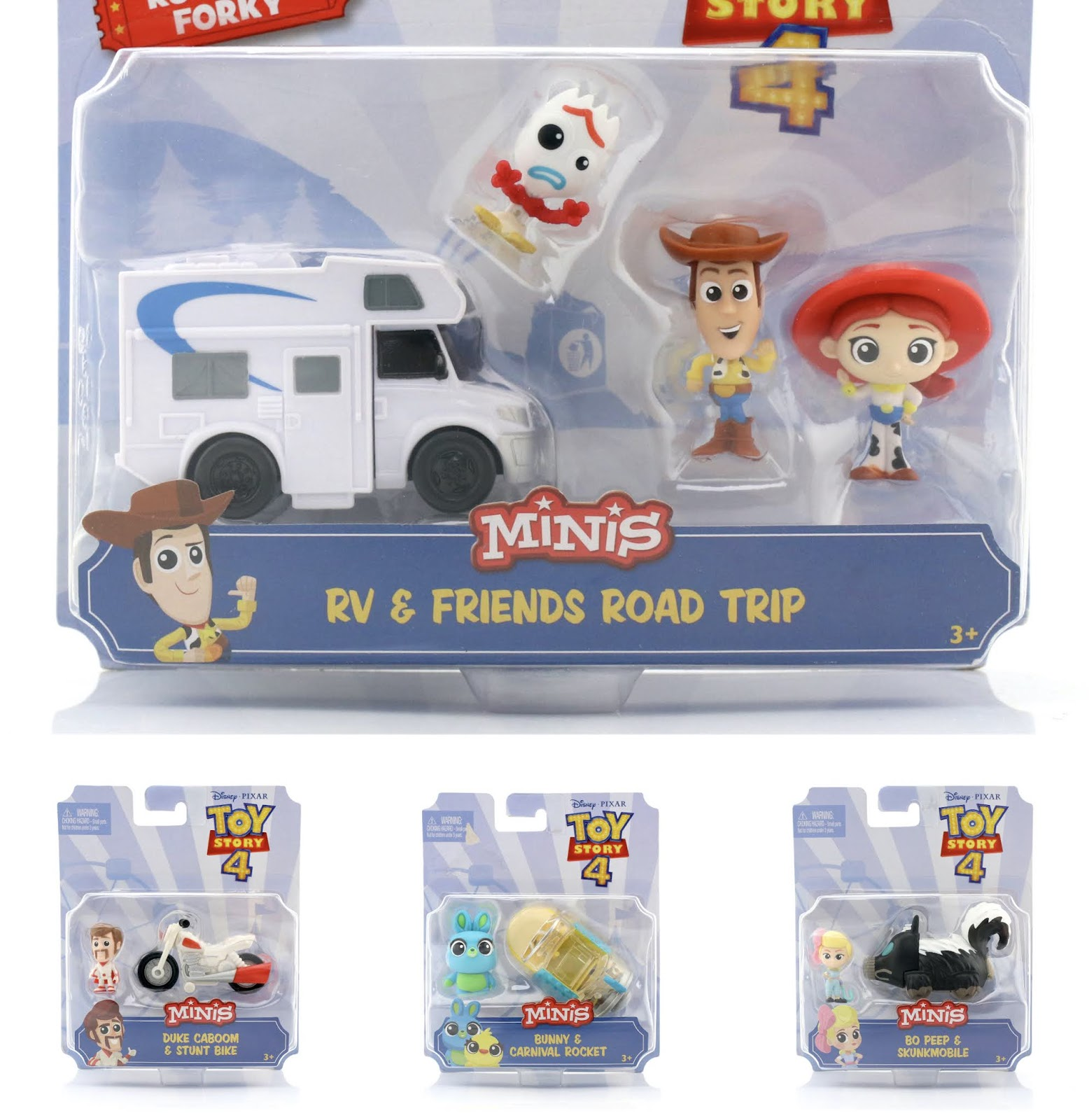 "Toy Story 4 ""Minis"" Vehicle Assortment"