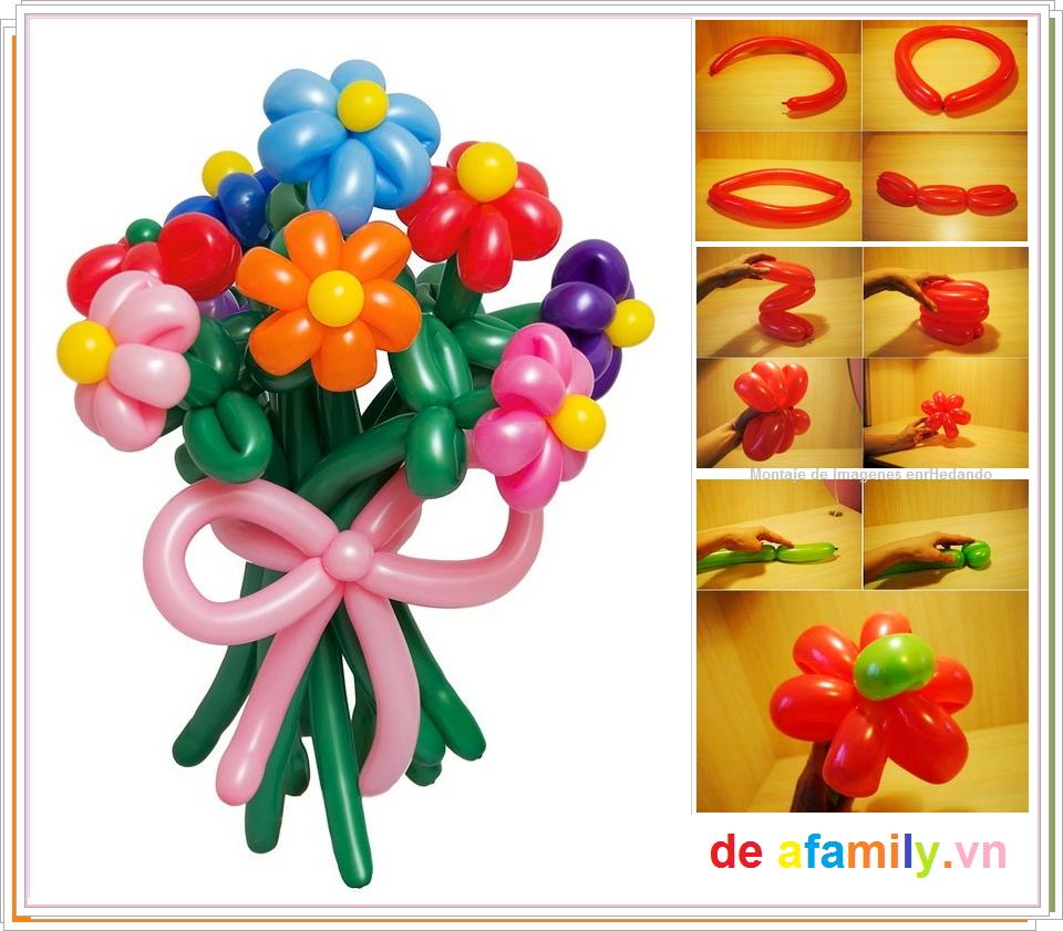 Enrhedando manualidades - Hacer munecos con globos ...