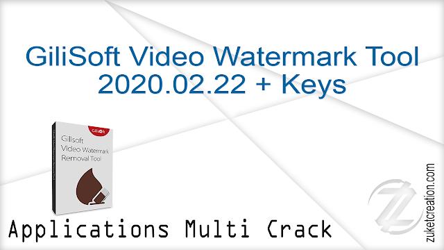 GiliSoft Video Watermark Tool 2020.02.22 + Keys
