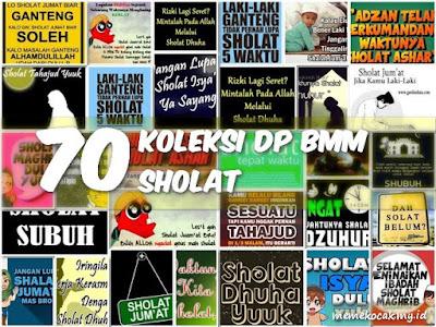 70 Koleksi DP BMM Sholat